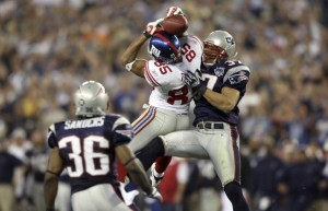 David Tyree's catch in Super Bowl XLII is considered one of the greatest in Super Bowl history. It also could be the final catch of Tyree's NFL career.