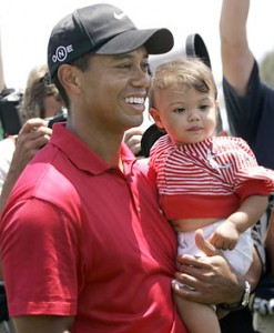The last three months have certainly been as tough for Tiger's children as for the golf star.