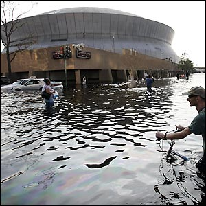 In the aftermath of Hurricane Katrina there were questions as to whether the Saints would ever return to New Orleans.