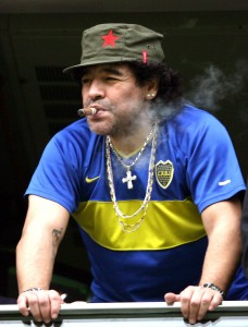 Is Diego Maradona capable of leading Argentina to success at the 2010 World Cup?