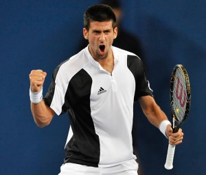 Novak Djokovic will need to harness his emotions if he hopes to rise to number two in the world.