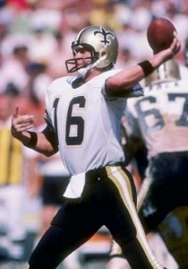 Ken Stabler came close to leading the Saints to the playoffs in 1983.