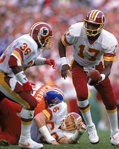 Timmy Smith rushed for 204 yards and two touchdowns in Super Bowl XXII.