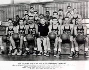 The 1950 CCNY squad is the only team to ever win the NCAA and NIT titles in the same year.