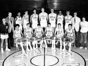 Head Coach John Wooden retired after leading UCLA to their 10th NCAA title in 1975.