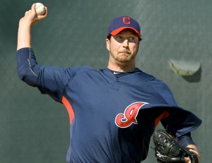 Jason Grilli as he prepared to make the roster of the 2010 Indians