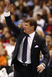 Gino Auriemma is shooting for his seventh national title in 2010.
