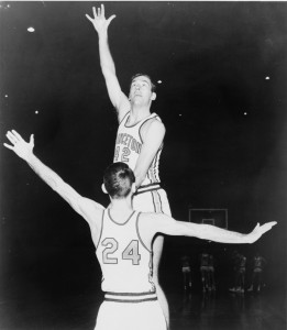 Bill Bradley was a three-time ALl-American at Princeton.