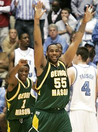 George Mason defeated three former NCAA Champions on their way to the 2006 Final Four.