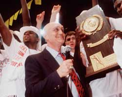 Is the NCAA still punishing UNLV for the antics of Jerry Tarkanian?