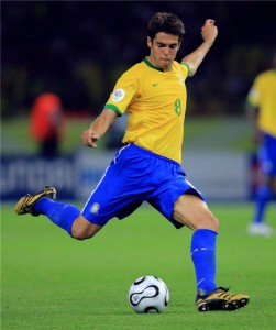 Kaká is the leader of the Brazilian squad for the 2010 World Cup.