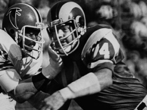Merlin Olsen earned 14 Pro Bowl trips during his 15-year NFL career.