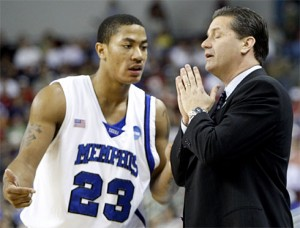 Derrick Rose and John Calipari answered short-term prayers in Memphis, but the memory of their NCAA run has been exponged from the NCAA records.