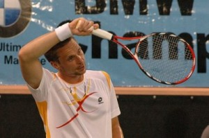 Two months after winning the BMW, Soderling made the finals of the French Open.