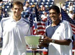 Max Mirnyi and Mahesh Bhupathi won the U.S. Open Championship in doubles in 2002.