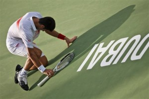 Novak Djokovic takes the victory in Dubai from Mikhail Youzhny