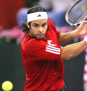 Playing Davis Cup for Chile, Gonzalez withdraws from Indian Wells.