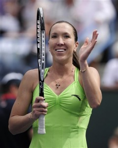 Jelena Jankovic won the tournament in Indian Wells and tops the Power Rankings this week.