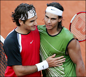 Nadal has defeated Federer in 9 of 11 matches on clay, the first in 2005.