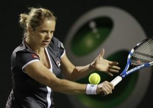 Kim Clijsters moves into quarterfinals in Miami.