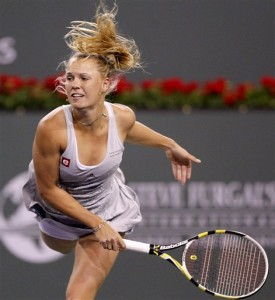 Will second seed Caroline Wozniacki hang on to win at Indian Wells?
