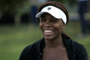 Venus Williams remains at the top of the women's tennis power rankings.