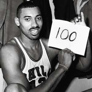 Wilt Chamberlain scored 100 points in a game on March 2, 1962.