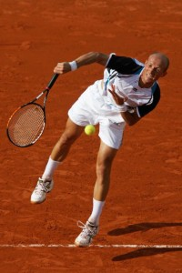 Nikolay Davydenko is always a dangerous player, but a broken wrist could derail his spring.