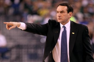 Coach Kezyzewski and Duke is one of only two private schools to win the Division I men's basketball title in the last 25 years.