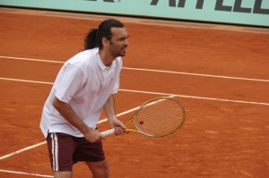 Spaniard Bruguera won two of three French Open finals.