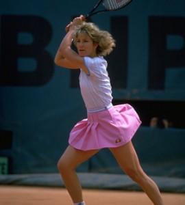 Chris Evert is No. 1 for the Ladies Tour at the French Open
