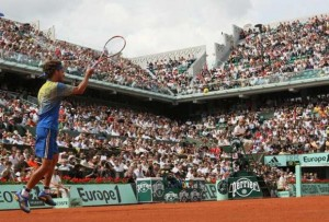 """Guga"" was loved on the grounds of Roland Garros, winning 3 French Open finals."