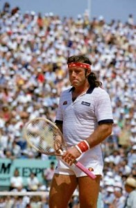 Guillermo Vilas won his first title in 1977 after 4 tries.