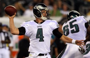 The Kevin Kolb era has officially begin in Philadelphia.