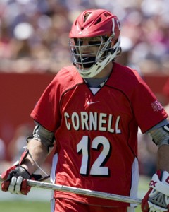 Senior Matt Moyer was a key player for Cornell during the 2009 season.