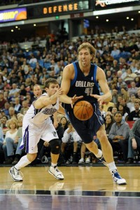 Dirk Nowitzki and the Dallas Mavericks could crash the playoff party.
