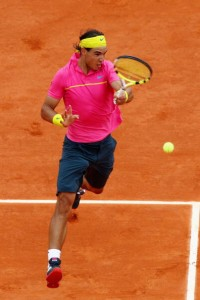 Rafael Nadal is known for his prominence on clay.
