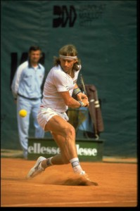 Bjorn Borg won the French Open six times in six tries.