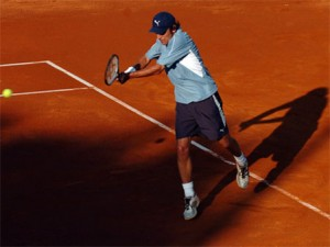 Also winning the French Open 3 times in 5 tries, Mats Wilander found the red clay to his liking.