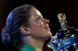 Kim Clijsters of Belgium won the 2011 Australian Open title defeating Ni La of China.