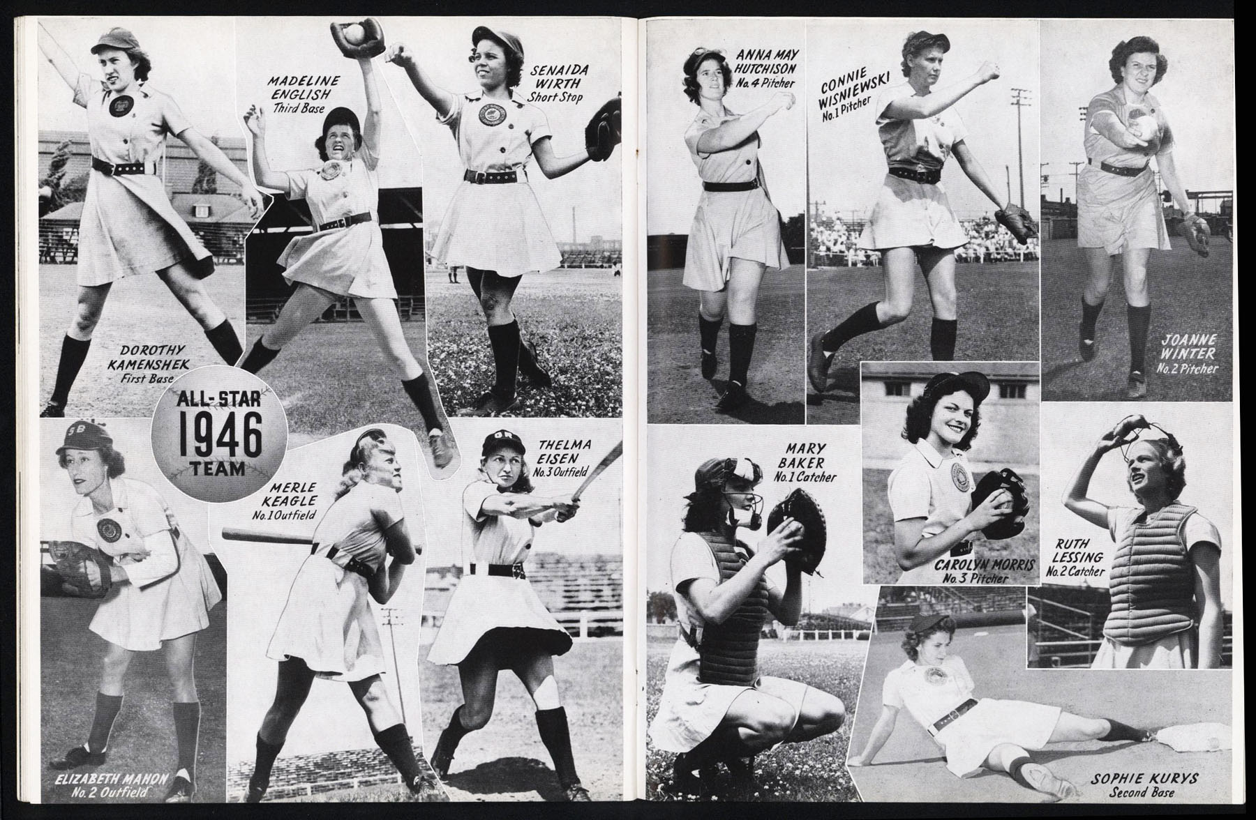 a history of the all american girls professional baseball league in america A team of their own: the all-american girls professional baseball league home meet the team about us about the project oral history interviews.