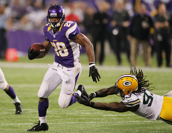 Adrian Peterson Shows That Running Backs Can Still Be Franchise Players 2012