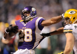 Eight would have been great: Minnesota running back Adrian Peterson came up eight yards shy of tying the single-season rushing record, but his Vikings are heading to the playoffs. 