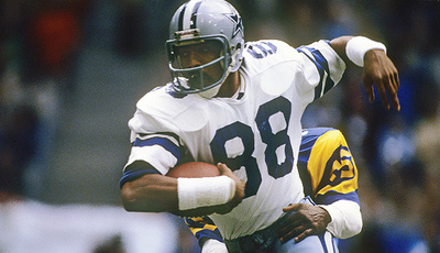 In 22 career post season games, Drew Pearson caught 67 passes for 1,105 yards and eight touchdowns.