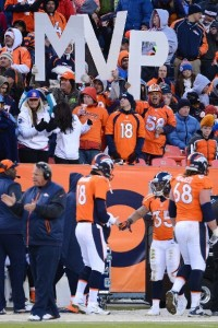 Peyton Manning led the Broncos to an easy win and the No. 1 seed in the AFC in perhaps another MVP season.