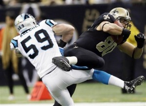 2012 Defensive Rookie of the Year: Luke Kuechly.