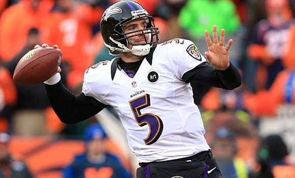The Baltimore Ravens broke the bank to keep quarterback Joe Flacco.