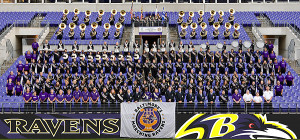 The Marching Ravens Band will be without their color guard and flag line in 2013.