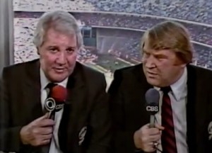 Pat Summerall and John Madden were the most popular duo in NFL broadcasting history.