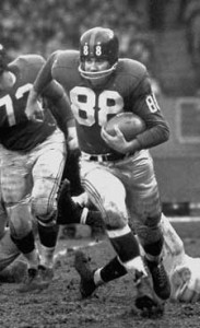 Pat Summerall spent 10 seasons in the NFL, including four years with the New York Giants.